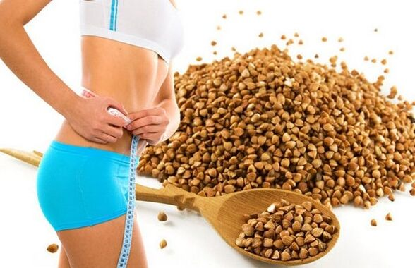 how many kilograms can you lose weight on a buckwheat diet